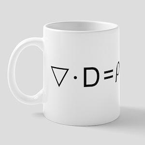 Gauss's Law Mug