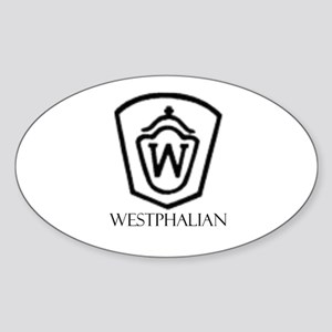 Westphalian Oval Sticker