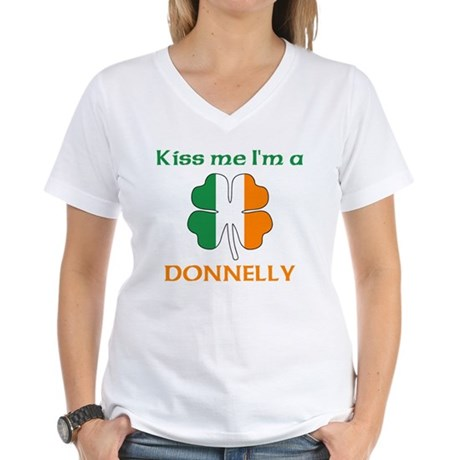 Donnelly Family Women's V-Neck T-Shirt