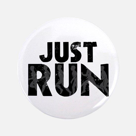 "Just Run 3.5"" Button (100 pack)"
