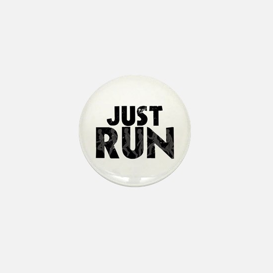 Just Run Mini Button