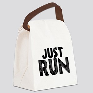 Just Run Canvas Lunch Bag