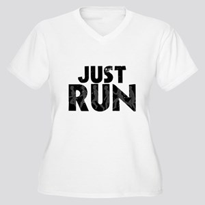 Just Run Plus Size T-Shirt