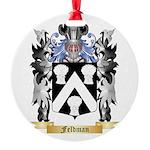 Feldman Round Ornament