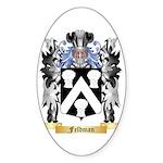Feldman Sticker (Oval 50 pk)