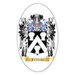 Feldhuhn Sticker (Oval 10 pk)