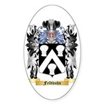 Feldhuhn Sticker (Oval 50 pk)