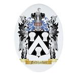 Feldharker Ornament (Oval)