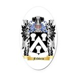 Feldbrin Oval Car Magnet