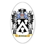Feldblum Sticker (Oval 50 pk)