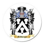 Feldberger Round Car Magnet