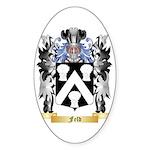 Feld Sticker (Oval 50 pk)