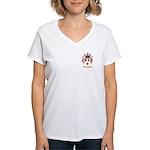 Fekkena Women's V-Neck T-Shirt