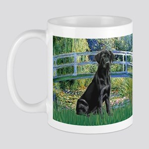 Bridge & Black Lab Mug