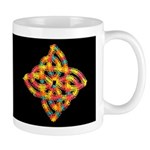Celtic Knot - Finnian's Double Rainbows Mug