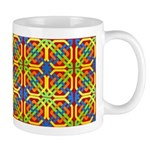 Celtic Knot - Yellow Octagon Mug