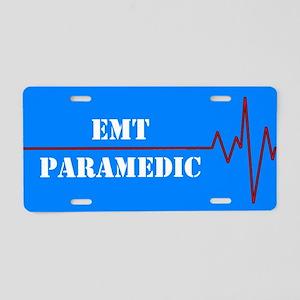EMT Paramedic Aluminum License Plate