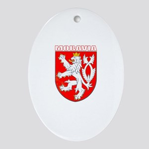 Moravia, Czech Republic Oval Ornament