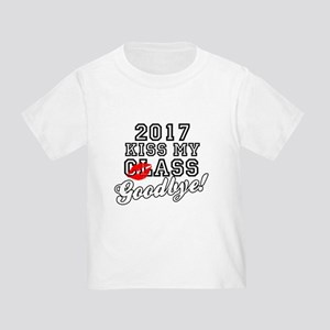 Kiss My Class Goodbye 2017 Toddler T-Shirt