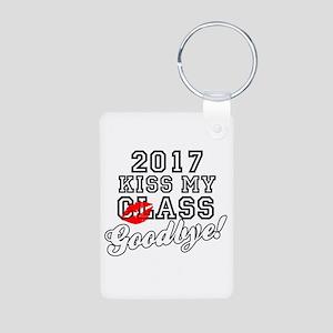 Kiss My Class Goodbye 2017 Aluminum Photo Keychain
