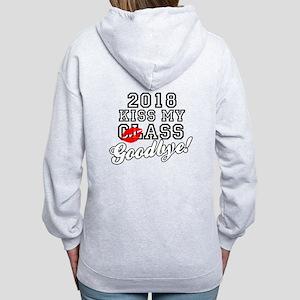 Kiss My Class Goodbye 2018 Women's Zip Hoodie