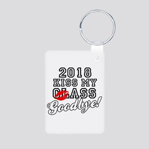 Kiss My Class Goodbye 2018 Aluminum Photo Keychain