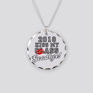 Kiss My Class Goodbye 2018 Necklace Circle Charm