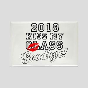 Kiss My Class Goodbye 2018 Rectangle Magnet