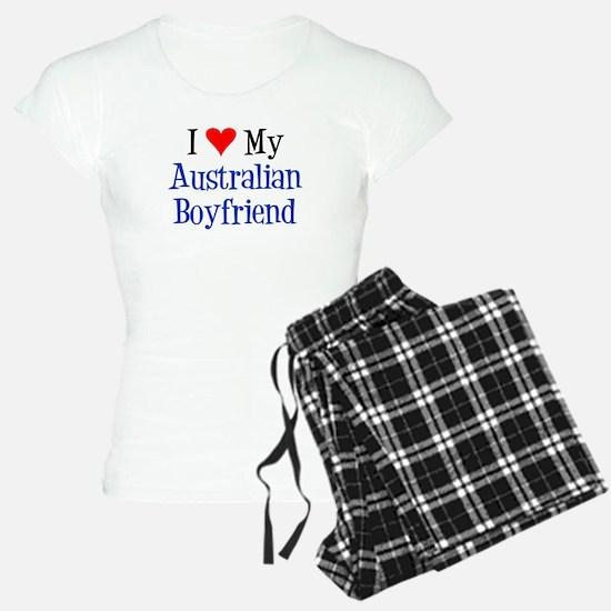 Love My Australian Boyfriend Pajamas