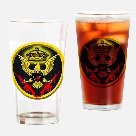 Gun-Play Logo Drinking Glass