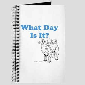 What Day Is It Journal