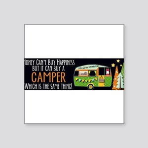 Camper Happiness Sticker