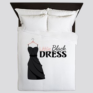 Little Black DRESS Queen Duvet