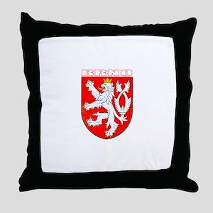Brno, Czech Republic Throw Pillow
