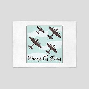 Wings Of Glory 5'x7'Area Rug