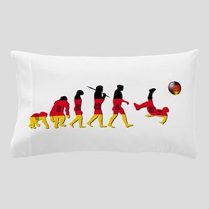 German Football Evolution Pillow Case
