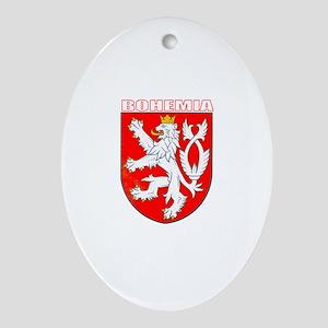 Bohemia, Czech Republic Oval Ornament