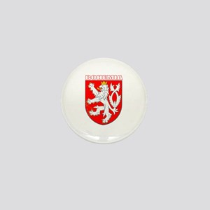 Bohemia, Czech Republic Mini Button