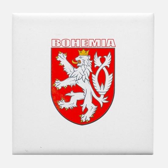 Bohemia, Czech Republic Tile Coaster