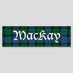 Tartan - MacKay Sticker (Bumper)