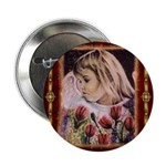 """2.25"""" Button (10 pack) Angel Of Spring"""