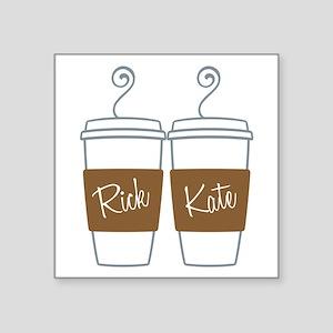 castle-morning-coffee Sticker