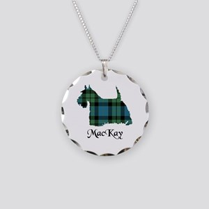 Terrier - MacKay Necklace Circle Charm