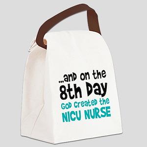 NICU Nurse Creation Canvas Lunch Bag