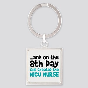 NICU Nurse Creation Square Keychain