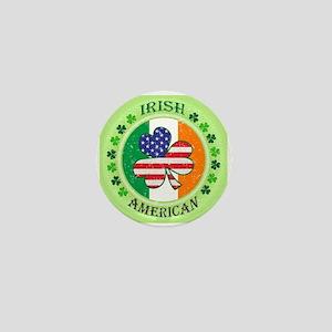 Irish American Mini Button