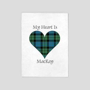 Heart - MacKay 5'x7'Area Rug