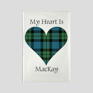 Heart - MacKay Rectangle Magnet