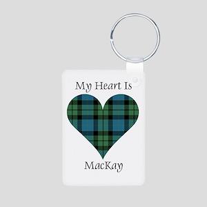 Heart - MacKay Aluminum Photo Keychain