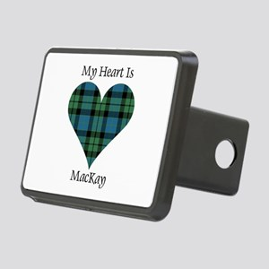 Heart - MacKay Rectangular Hitch Cover